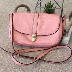 Michael Kors Charlton Crossbody Pink Leather Bag